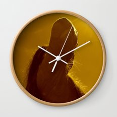 This is the birthday of the sun Wall Clock