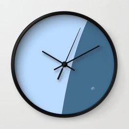 Blue Wave #skyblue #home #kirovair #decor #buyart #minimal #bluedecor Wall Clock