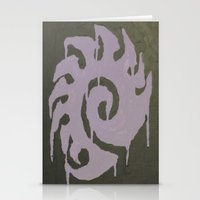 starcraft Stationery Cards featuring For the Swarm by leafindawind