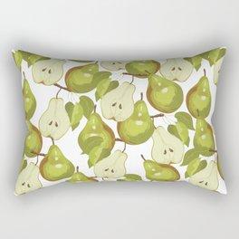 Pears Pattern Rectangular Pillow