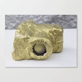 Gold Clay Camera, No. 2b Canvas Print