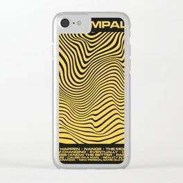 Tame Impala Currents Design Clear iPhone Case