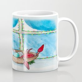 New England Holiday Coffee Mug