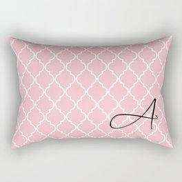 Pattern Monogram  Rectangular Pillow