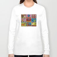 keith haring Long Sleeve T-shirts featuring Keith Haring & star W.2 by le.duc
