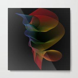 Light Refracted Metal Print