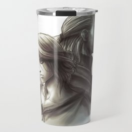 The Witcher 3 - Ciri / Geralt Artwork Travel Mug