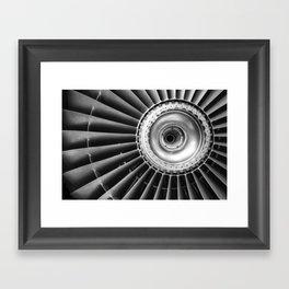 JET Framed Art Print