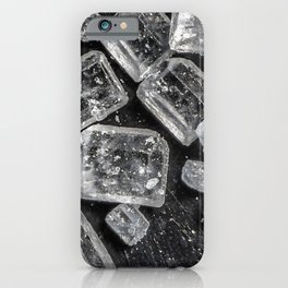 Sugar Crystals under a microscope iPhone Case