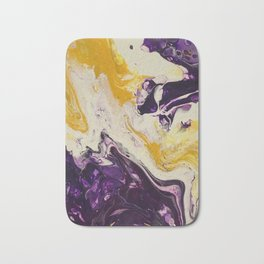 """Geaux Tigers"" by Laurie Ann Hunter Bath Mat"