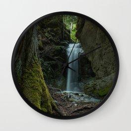 Beautiful Small Waterfall Wall Clock