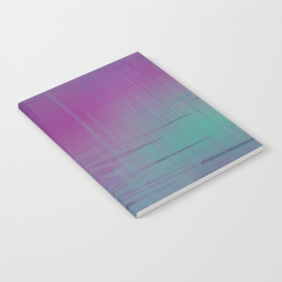Purple Rainstorm Notebook