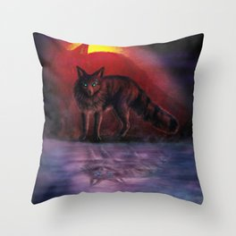 Dissociative Shift Throw Pillow