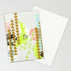 Geometry and abstract nature Stationery Cards