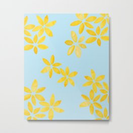 yellow petals Metal Print