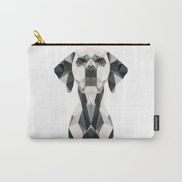 Low Poly Dalmatian Carry-All Pouch