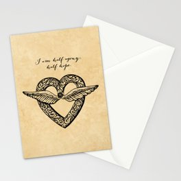 Jane Austen - Agony Stationery Cards