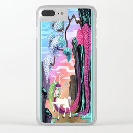 the dragon slayer Clear iPhone Case