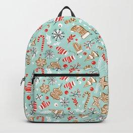 Gingerbread Dreams - Aqua Backpack