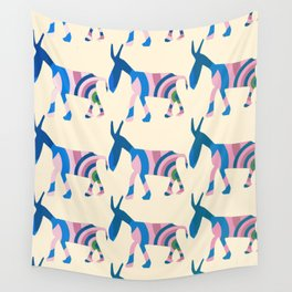 Donkey Parade Wall Tapestry