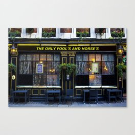 The Only Fool's and Horse's Canvas Print