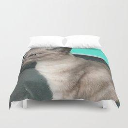 Australia cat Duvet Cover