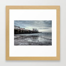Pier, Clacton-on-Sea Framed Art Print