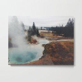 Hot Springs Metal Print
