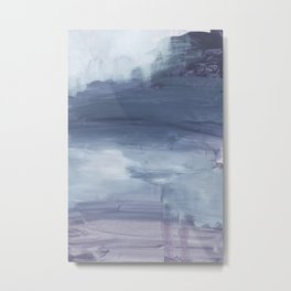 Number 80 Abstract Sky Metal Print