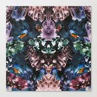 crystal Canvas Prints featuring Crystal by Kangarui by Rui Stalph