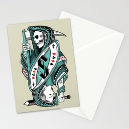 Death card Stationery Cards