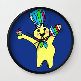 Muffin Man Wall Clock