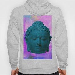 Head of Buddha Indonesia, Java, Borobudur, Sailendra Period, 9th Century early 800s 2 Hoody