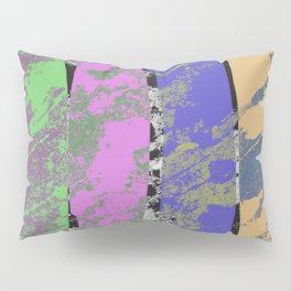 All 4 One - Abstract, textured artwork Pillow Sham