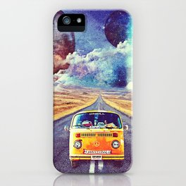 Globe trotter iPhone Case