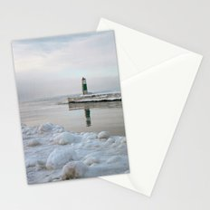 Winter in Holland, Michigan Stationery Cards