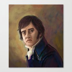 Mr. Darcy From Pride and Prejudice Canvas Print