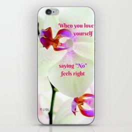 """""""No"""" Feels right iPhone Skin"""
