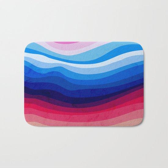 Melted Rainbow Bath Mat