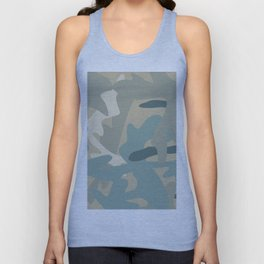 Camouflage military background Unisex Tank Top