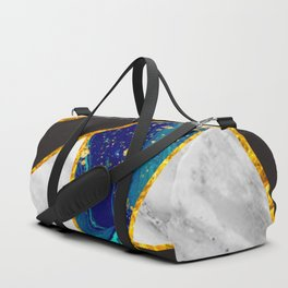 abstract marble pattern Duffle Bag
