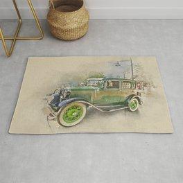 Classic Car Rug