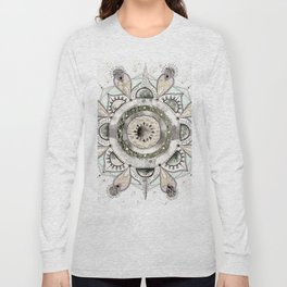 Moon Mandala Long Sleeve T-shirt
