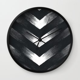 Charcoal Point Wall Clock