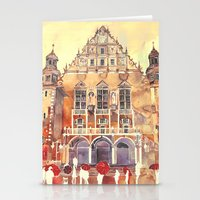takmaj Stationery Cards featuring Poznań by takmaj