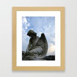 Heaven's Eyes Framed Art Print
