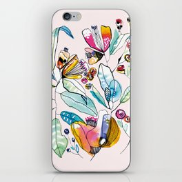 Flowers in the Wind iPhone Skin
