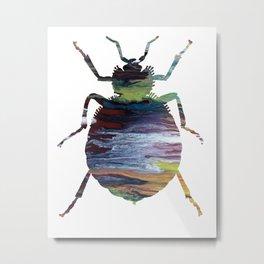 Bedbug Metal Print