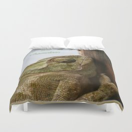 You're One In A Chameleon Duvet Cover