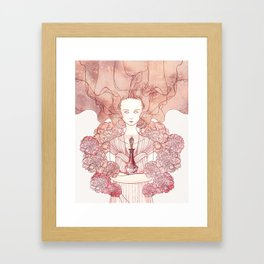 The Coral Witch Framed Art Print